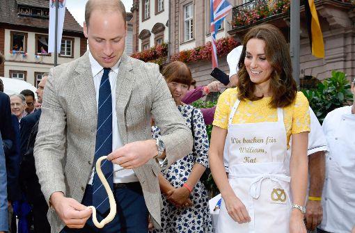 Brezeln von William und Kate werden versteigert