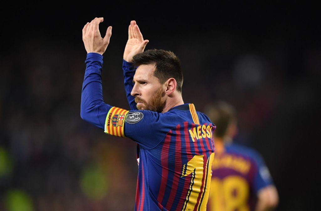 Immer wieder Messi: 600 Treffer für den FC Barcelona Foto: Getty Images/Matthias Hangst