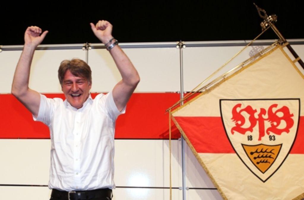 Bernd Wahler wurde mit 97,4 Prozent der Stimmen zum neuen Präsidenten gewählt. Foto: Pressefoto Baumann