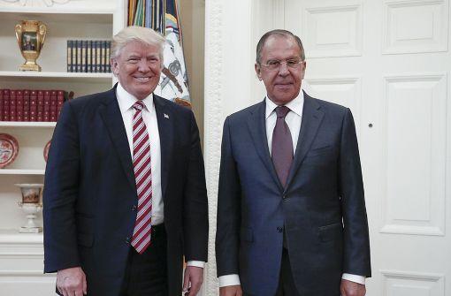Trump und Lawrow senden Signale der Annäherung