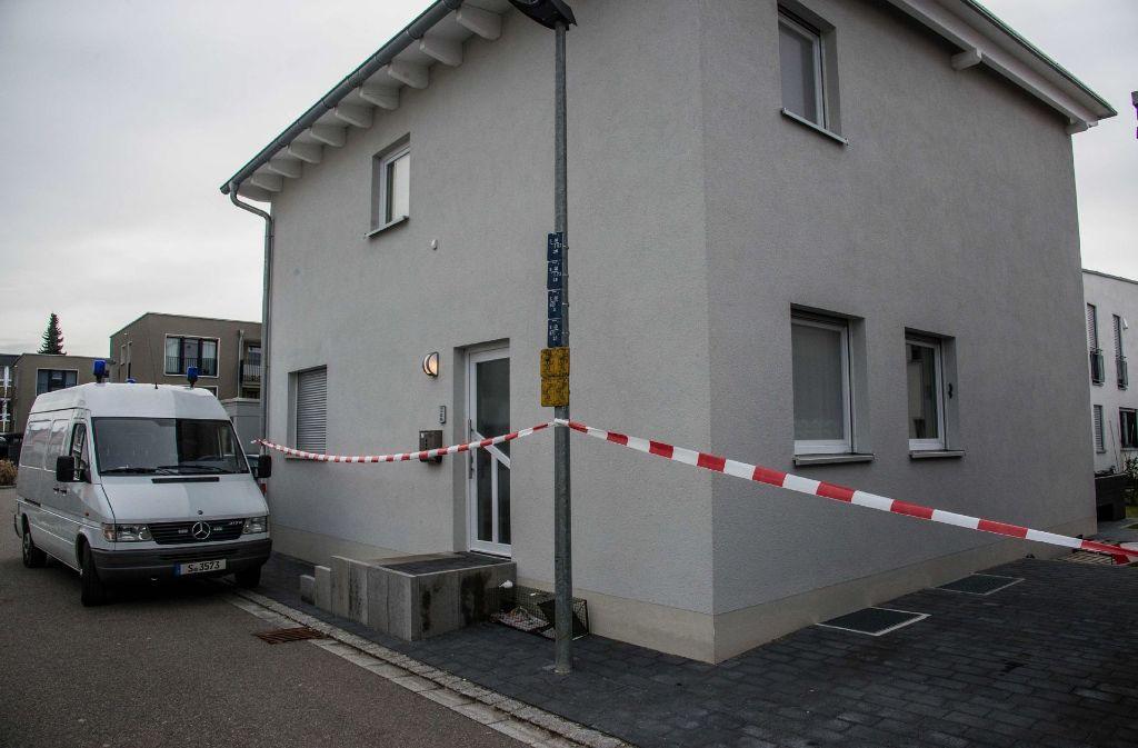 In diesem Haus in einem Neubaugebiet in der Karlsstraße geschah die Bluttat. Foto: SDMG