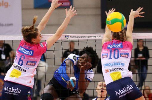 Planänderung für die Stuttgarter Volleyballerinnen
