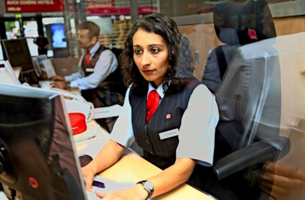 Zahlreiche Arbeitsplätze bei der Bahn stehen auf der Kippe. Foto: