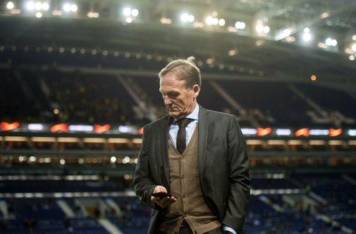 BVB-Geschäftsführer Watzke will von angeknockten Bayern nichts wissen. Foto: dpa