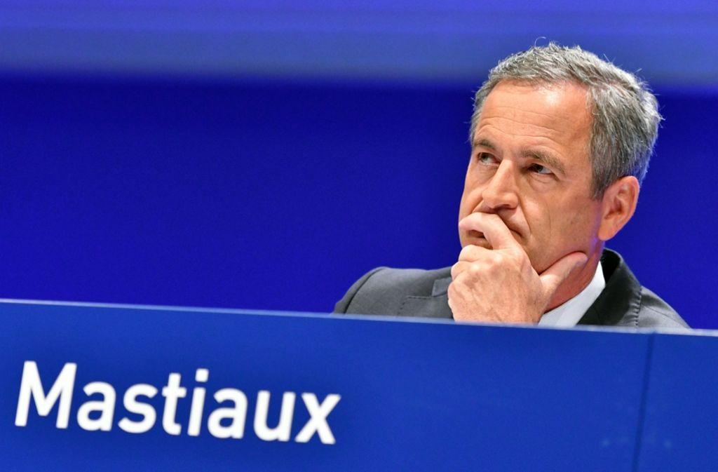 Im Amt bestätigt: Frank Mastiaux (52) darf nun bis 2022 EnBW-Chef bleiben. Foto: dpa