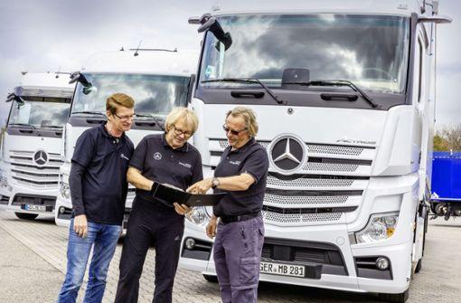 Daimler leistet Pionierarbeit