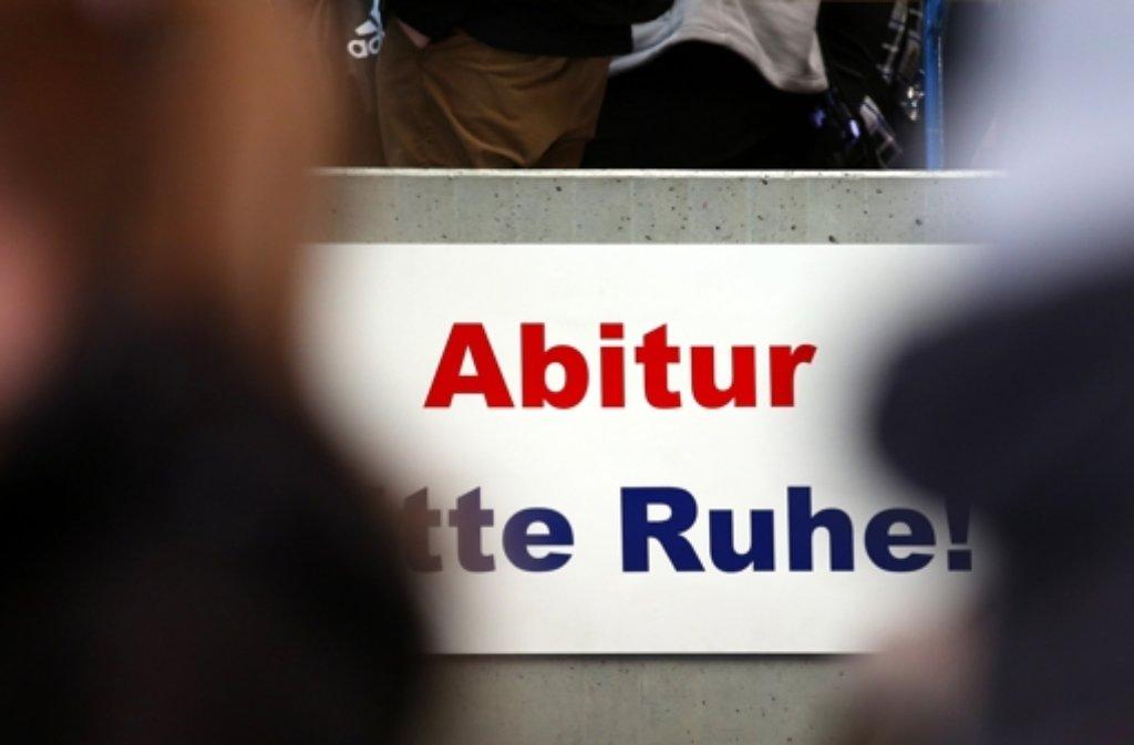 In Baden-Württemberg starten am Mittwoch die Abiturprüfungen. (Archivfoto) Foto: dpa