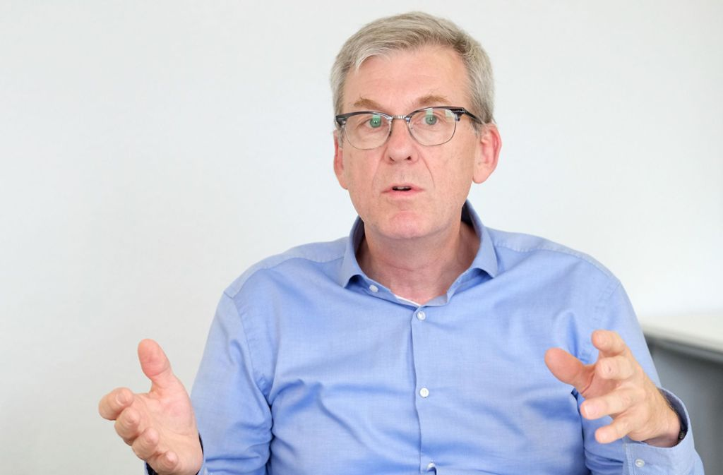 Für Ralf Michelfelder, Präsident des Landeskriminalamtes Baden-Württemberg, ist die Gefahr des Islamismus nicht zurückgegangen. Foto: dpa/Bernd Weissbrod