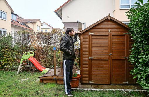 Großer Ärger wegen  ein paar Gartenhäusern