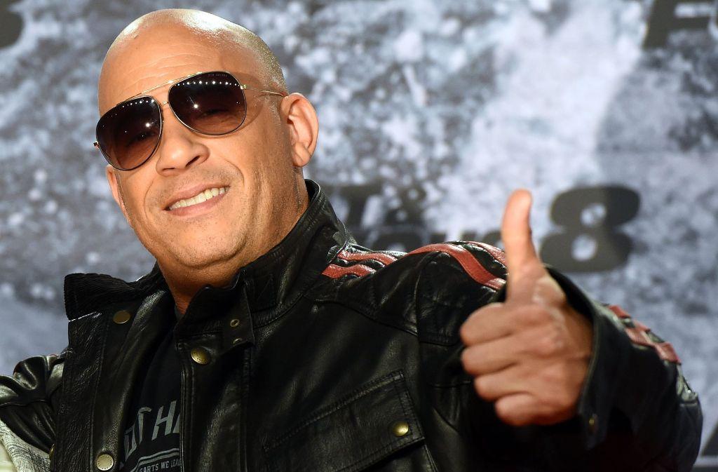 """Vin Diesel und """"Fast and the Furious""""-Autor Chris Morgan sind für """"Miami Vice"""" mit ihren Produktionsfirmen an Bord. Foto: dpa"""