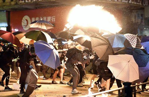 Eine Stadt im Würgegriff der Polizei