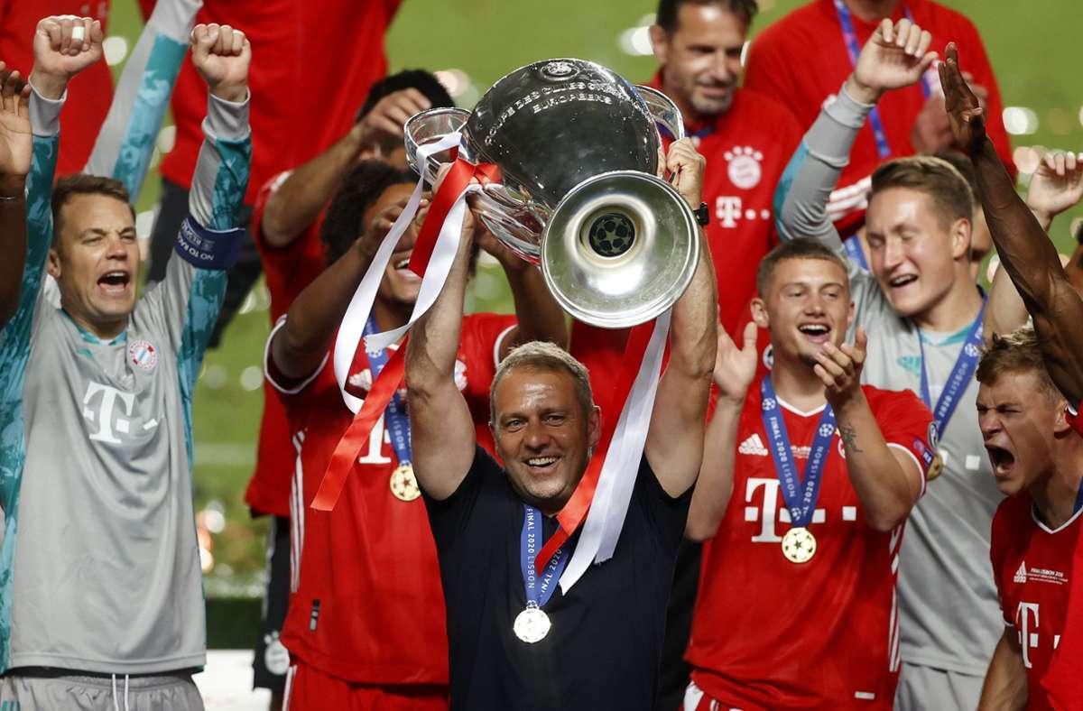 Der amtierende Champions League-Sieger FC Bayern trifft in der Gruppenphase unter anderem auf Atletico Madrid. Foto: AP/Matthew Childs