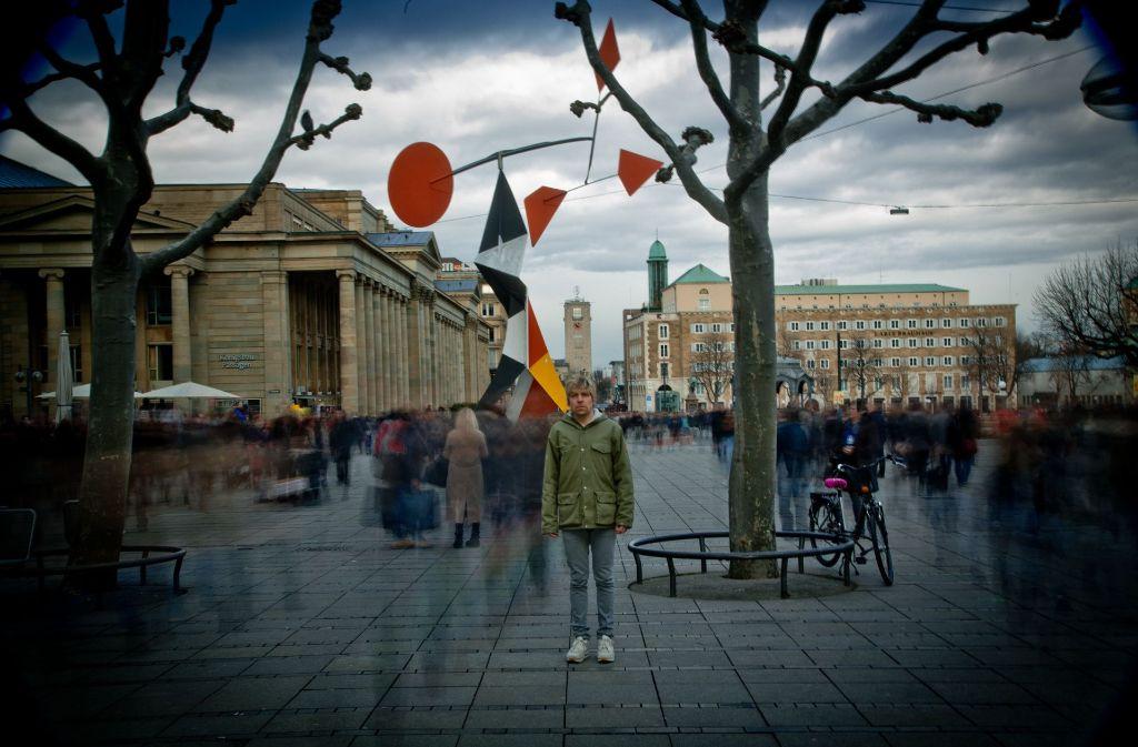 Der Markgröninger Sänger Philipp Poisel kommt gerne nach Stuttgart. Foto: Sophie Seybold