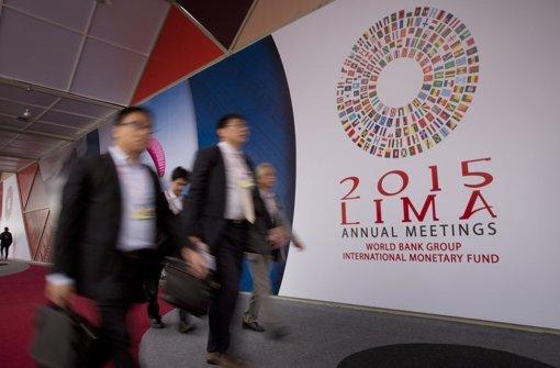 Weltwirtschaft steht im Fokus