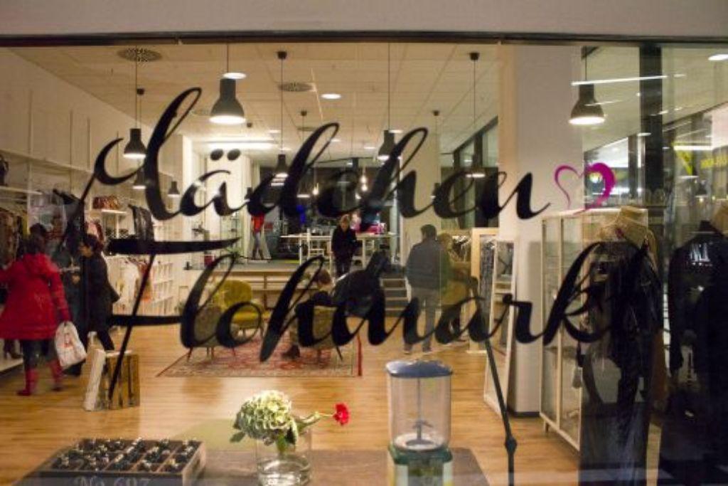 War anfangs auch mal im Fluxus: Der Pop-Up-Store vom Mädchenflohmarkt. Foto: Hannes Steim