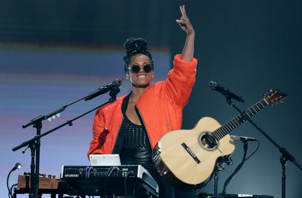 Sängerin Alicia Keys engagiert sich gegen Rassismus. Foto: Invision/AP
