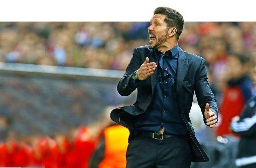 Atlético-Trainer Diego Simeone – der Übertrainer