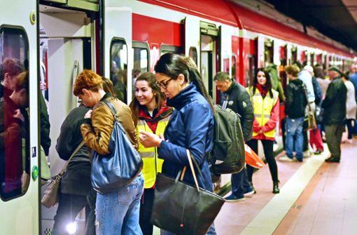 S-Bahnen am Hauptbahnhof fahren wieder normal