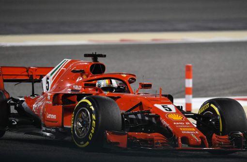Sebastian Vettel fährt in Bahrain zum zweiten Sieg