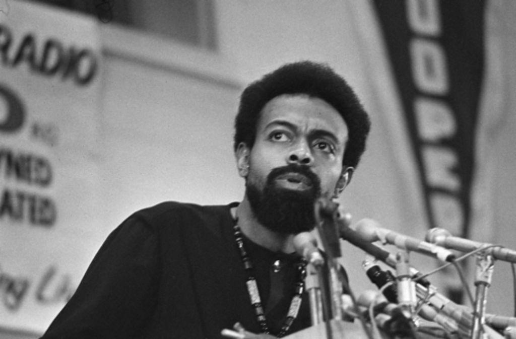 Der afroamerikanische Dichter und Aktivist Amiri Baraka in jungen Jahren: Stille Versöhnung mit den Weißen war ihm stets zuwider. Foto: AP