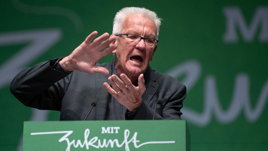 Kretschmann geißelt Klima-Paket der großen Koalition