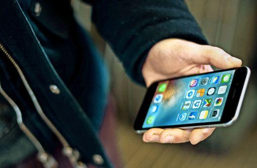 Smartphones gegen Attrappen getauscht
