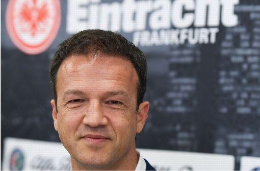 """Mit der Eintracht will er """"Zement zerbrechen"""""""