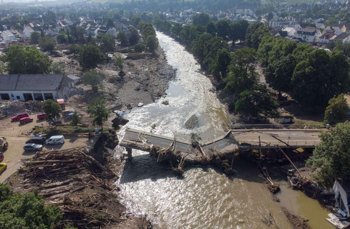 Die Folgen der Flutkatastrophe im Juli waren verheerend (Archivbild). Foto: dpa/Boris Roessler