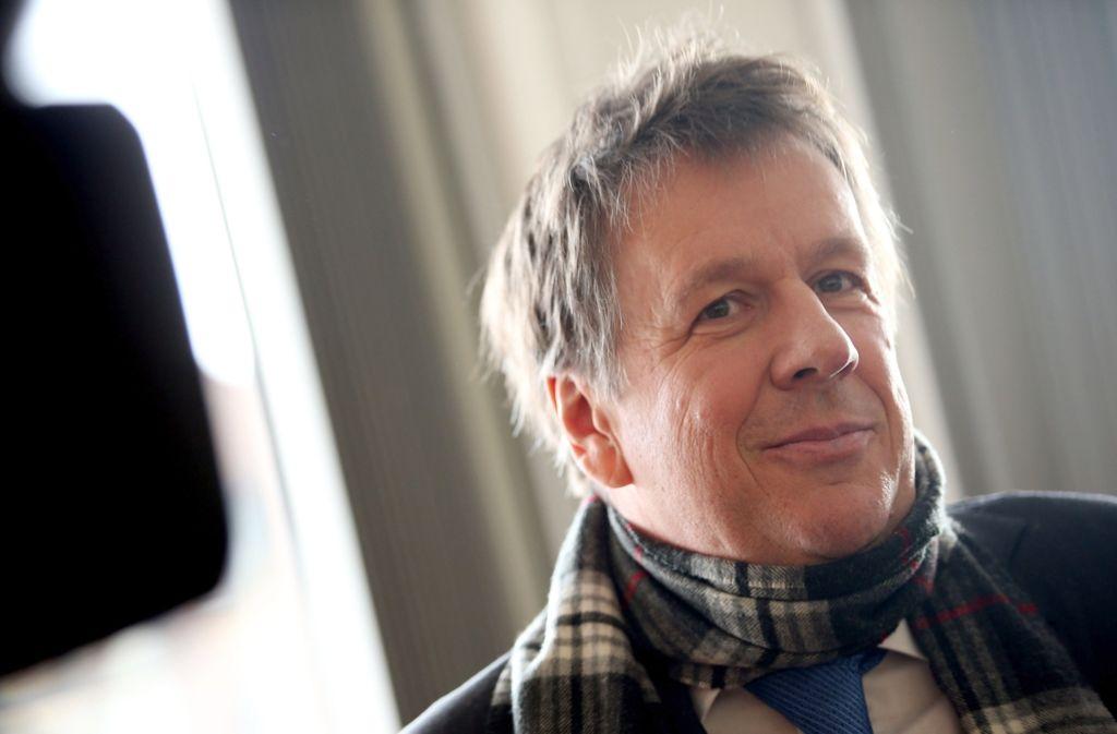"""Die """"Bild""""-Zeitung muss dem Wettermoderator Jörg Kachelmann 395 000 Euro für die Berichterstattung über den Prozess gegen ihn bezahlen - viel weniger als in erster Instanz festgelegt. Foto: dpa"""