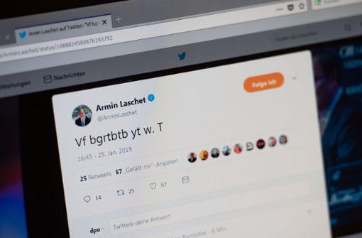 Laschets Hosen-Tweet sorgt für Belustigung
