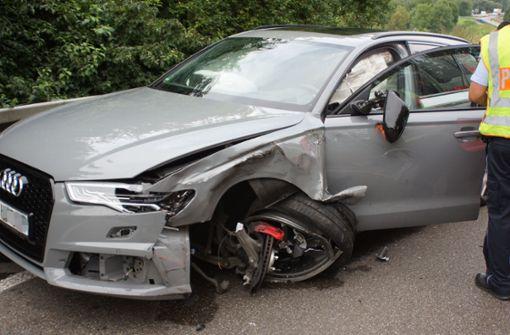 75 000 Euro Schaden  bei Unfall
