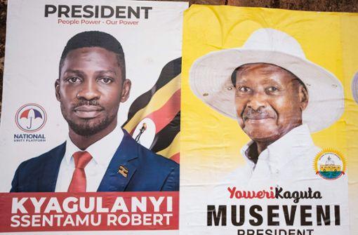 Popsänger Bobi Wine strebt an die Spitze des Staates