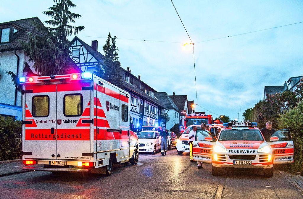 Und wieder Alarm: Am Dienstagabend wurde in Stuttgart-Vaihingen ein bewusstloses Kind gefunden. Foto: SDMG