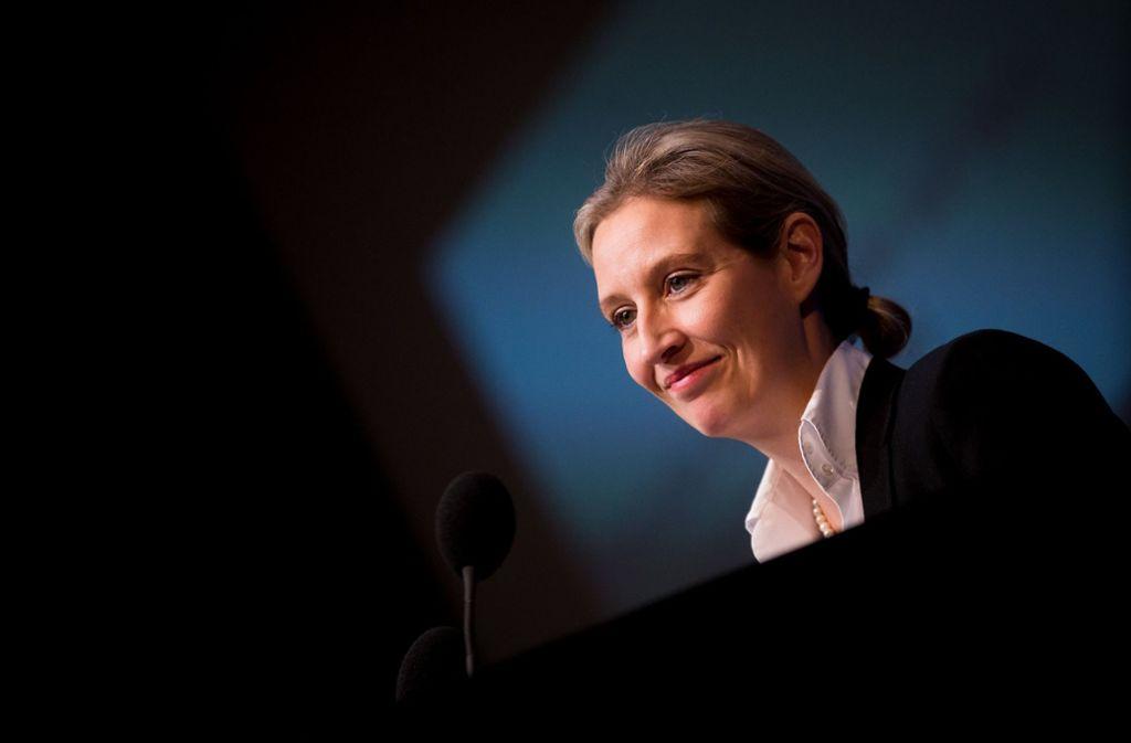 Rückendeckung bekommt Alice Weidel in der Spenden-Affäre von ihrem AfD-Kreisverband am Bodensee. Foto: dpa