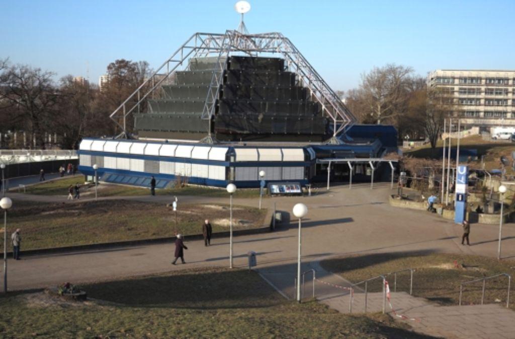 Das Stuttgarter Planetarium ist eines der modernsten Sternentheater weltweit. Foto: Achim Zweygarth