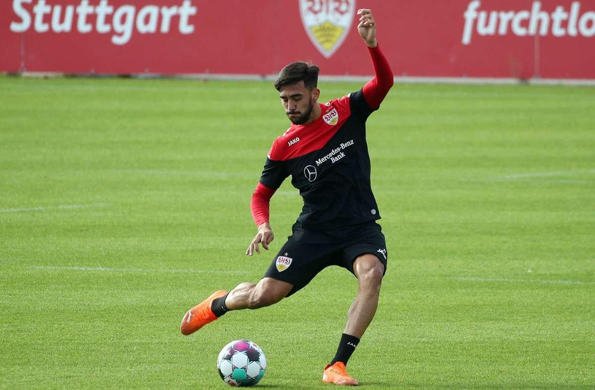 Nicolas Gonzalez brennt auf seinen ersten Saisoneinsatz für den VfB. Foto: imago