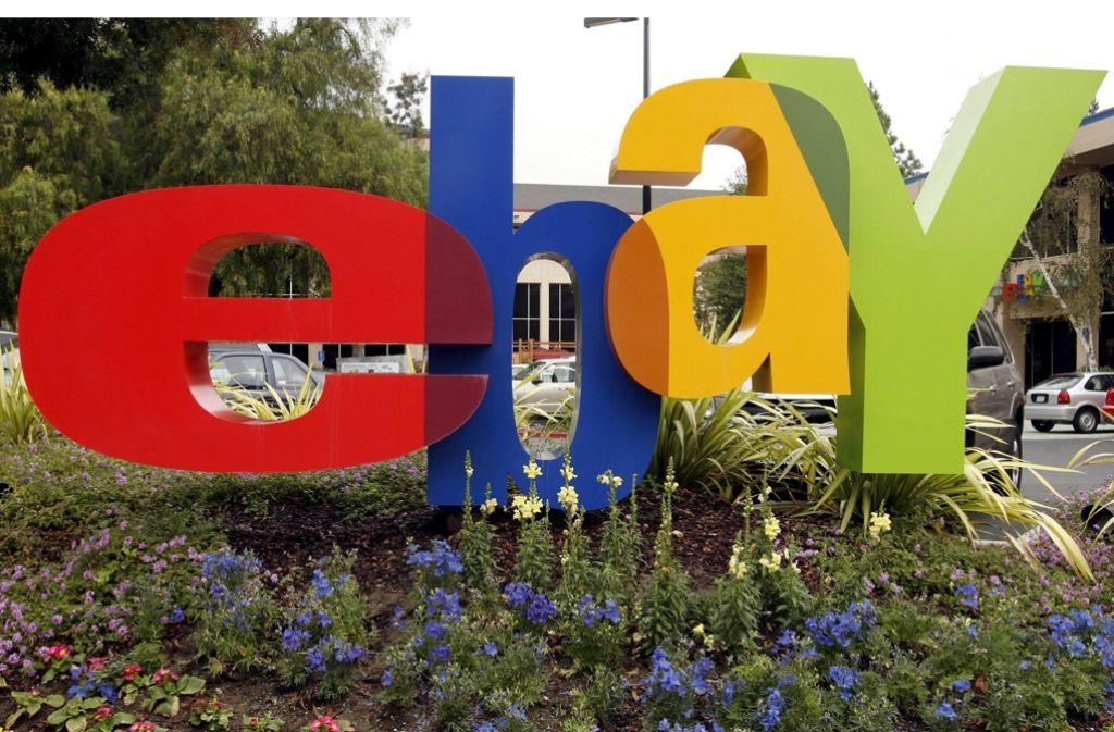 Das Online-Auktionshaus Ebay wurde in Kalifornien gegründet. Foto: