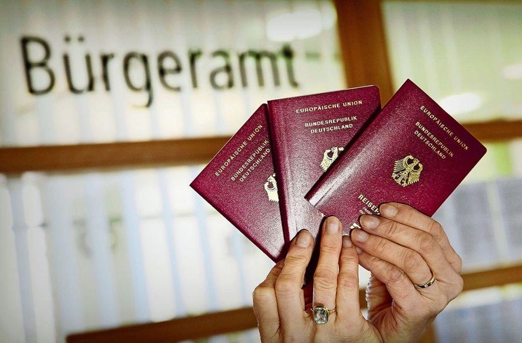 Wer in Zeiten der Krise einen neuen Pass braucht, muss sich gedulden. Foto: Ines Rudel