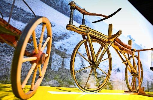 Nächstes Jahr wird das Fahrrad 200 Jahre alt – in Mannheim wird es jetzt schon gewürdigt