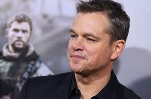 Matt Damon entschuldigt sich für umstrittene Äußerungen