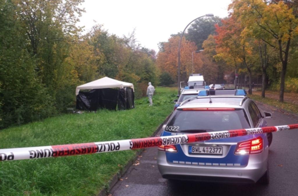 Am Dienstag ist die Leiche der jungen Frau in einem Gebüsch in Ludwigsburg entdeckt worden. Foto: Tim Höhn
