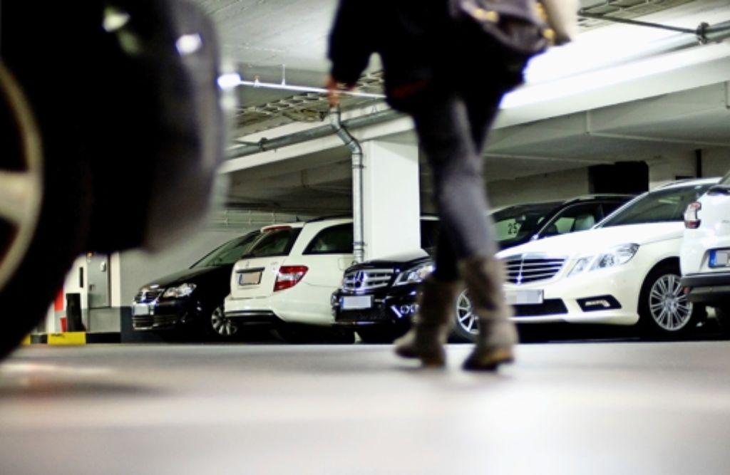 Nach den Vorstellungen der Grünen könnten Parkhäuser nachts für Anwohner geöffnet werden. Foto: dpa