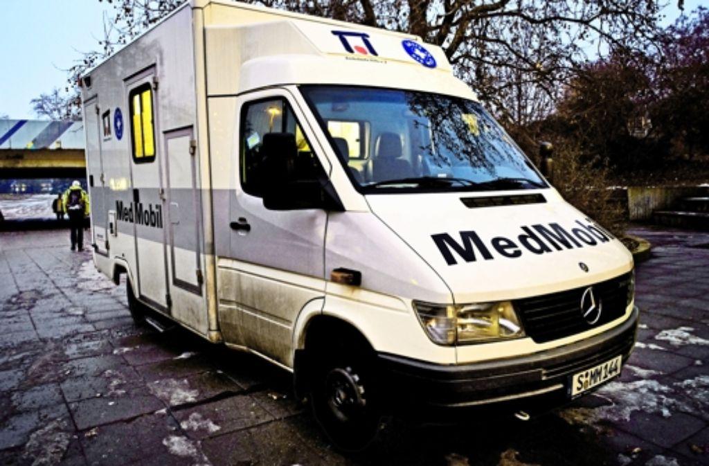 Für  das erfolgreiche Medmobil gibt es keine langfristige Finanzierung. Foto: Steffen Honzera
