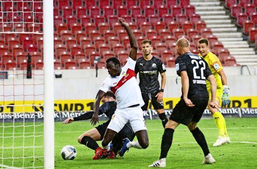 Der VfB Stuttgart zeigt ein neues Gesicht
