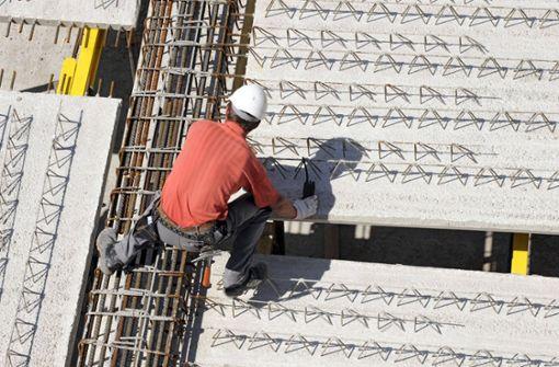 Der Boom in der Baubranche trügt