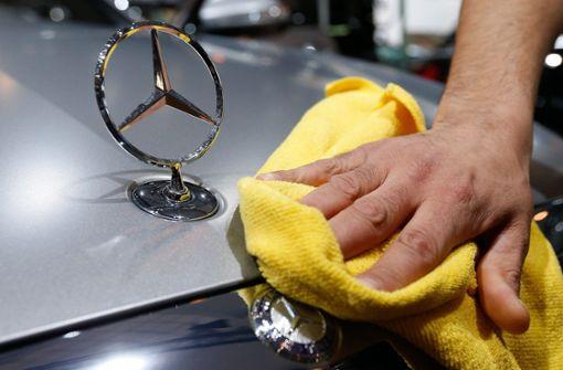 Daimler-Aktionäre ziehen sich zurück