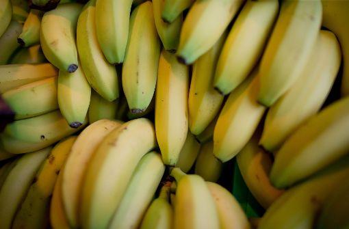 Loch in Banane ruft Polizei auf den Plan