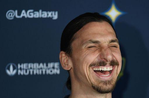 So verabschiedet sich der Stürmer von  Los Angeles Galaxy