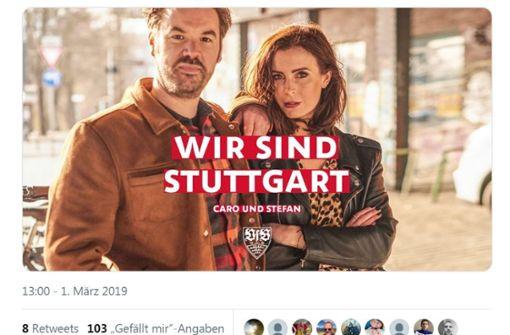 Caro und Stefan spalten die Stuttgarter Fangemeinde