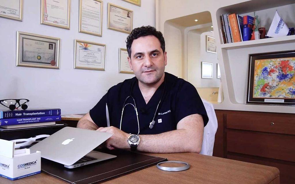 Dr. Levent Acar, Leiter und Gründer der Cosmedica Clinic in Istanbul, ist in Deutschland geboren und aufgewachsen. Foto: Dr. Levent Acar - Cosmedica